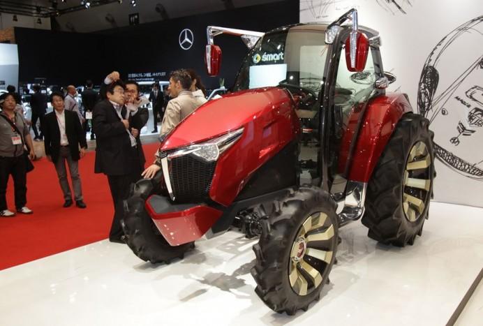 7. A jövő luxusa - Egy japán tervező Ken Okuyama álmodta meg a jövő traktorát. Hogy a gyártók merítenek-e ihletet a Ferrarinál is dolgozó művész munkájából, arról sejtésünk sincs.
