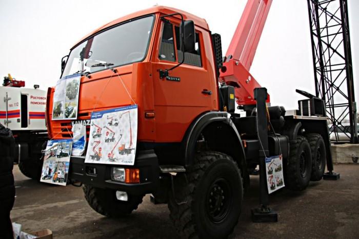 A Kamaz 43114-es teherautót elsősorban az energetikai szektorban tevékenykedő vállalatok használják majd előszeretettel