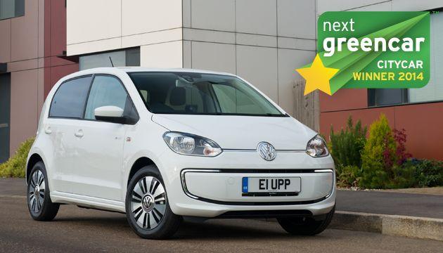 A legjobb városi autó: Volkswagen e-up!; 0 g/km CO2 (Renault Twingo 1.0 SCe 70 Dynamique Start-Stop;95 g/km CO2)