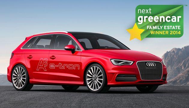 A legjobb családi kombi: Audi A3 Sportback e-tron; 37 g/km CO2 (Honda Civic Tourer 1.6 i-DTEC; 99 g/km CO2)