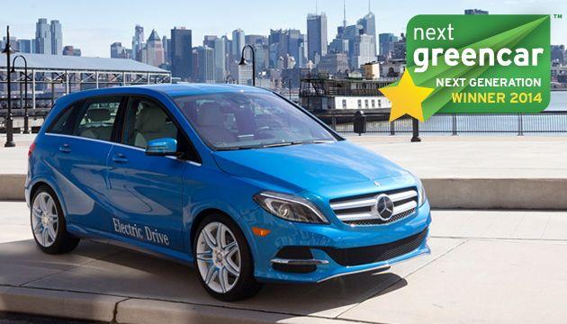 A legjobb új generációs technológia: Mercedes-Benz B-osztály Electric Drive; 0 g/km CO2 (Toyota Mirai FCV; 0 g/km CO2)