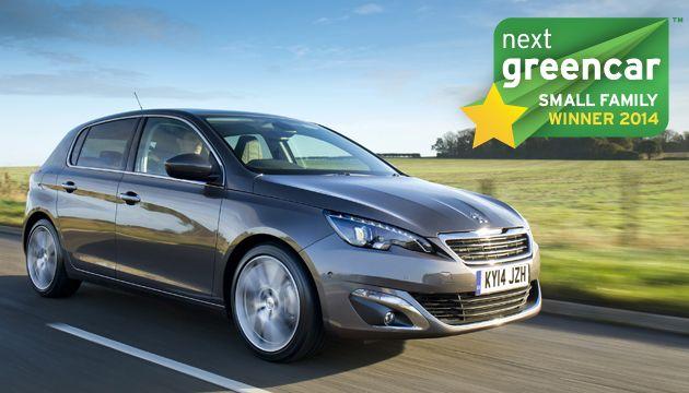 A legjobb kis családi autó: Peugeot 308 1.6 BlueHDI; 82 g/km CO2 (Volkswagen e-Golf; 0 g/km CO2)