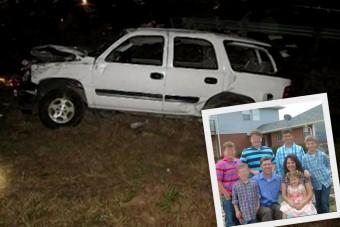 Elaludt a volánnál, kiirtotta a családját