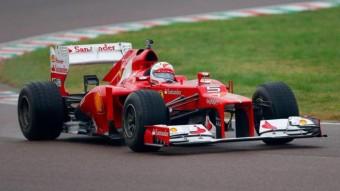 F1: Megvolt Vettel első ferraris tesztje