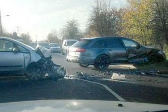 Előkerült a kép David Beckham balesetéről
