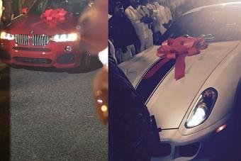 Ferrarit kapott 16 éves szülinapjára a repper lánya