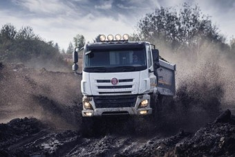 Itt az új Tatra dömper!