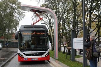 Percek alatt tölthető busz a Volvótól