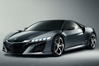 Januárban jön a Honda szupersportkocsija