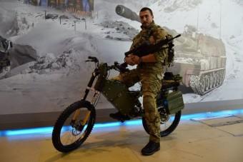 Brutális villanybringa az orosz hadseregnél