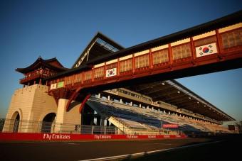 F1: Mégsem lesz Koreai Nagydíj