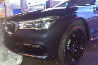 Fotókon az új 7-es BMW