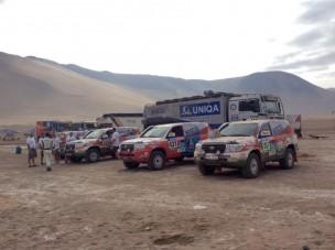 Dakar 2015: Újra együtt menetelt a mezőny