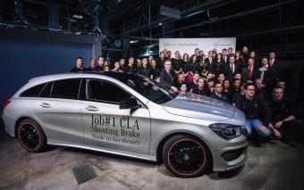 A nap képe - elindult az új Mercedes gyártása Kecskeméten