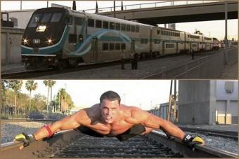 Versenyt futott a vonattal, veszített