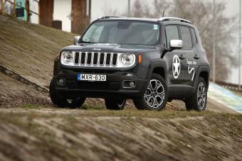 Nyomokban terepjárót tartalmazhat: Jeep Renegade