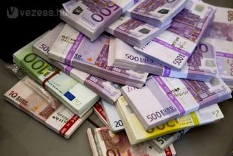Egymillió eurót találtak egy autóban