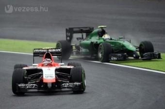 F1: Elbuktatták a Marussiát, vége a Caterhamnek
