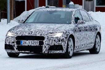 Nagyobb és könnyebb lesz az új Audi A4