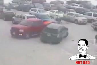 Tíz autót tört össze egy 92 éves sofőr
