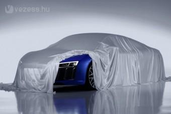 Lézerfénnyel érkezik az új Audi R8