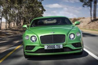 Megújult a Bentley kupécsaládja