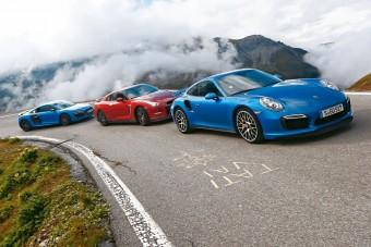 Összehasonlító teszt: Audi R8 LMX, Nissan GT-R, Porsche 911 Turbo S
