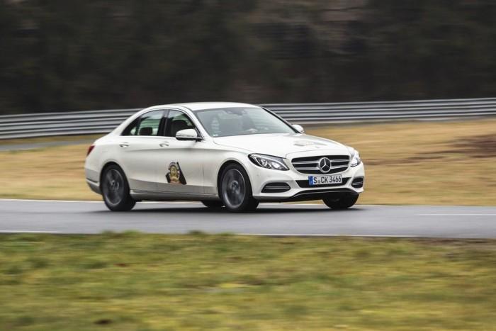 Mercedes C-osztály - egy osztállyal feljebb