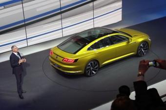 A Volkswagen Csoport erődemonstrációja Genfben