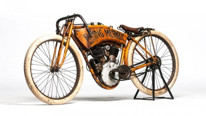 1910 Flying Merkel Board Track Racer