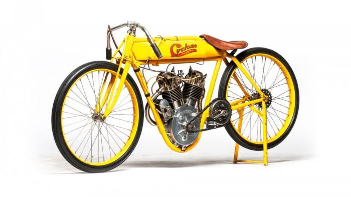 1915 Cyclone Board Track Racer, ami Steve McQueen tulajdonában volt egykor