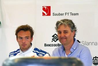 F1: 4,5 milliárdért nem ül autóba van der Garde