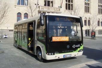 Magyar elektromos buszt tesztelhetünk