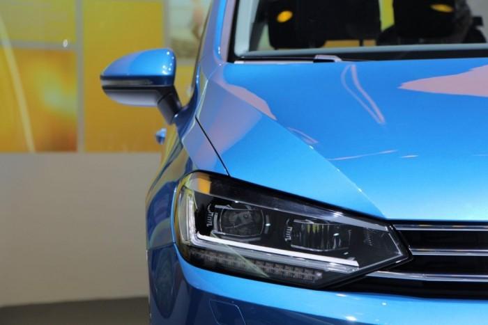Tiszta, egységes, határozott, és tökéletesen illik a Volkswagen nagycsaládi összképbe.