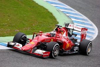 F1: Räikkönen Budapesten parádézik május 1-jén