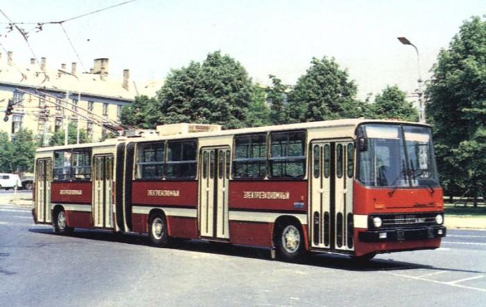Ikarus 280T egy korabeli fotón