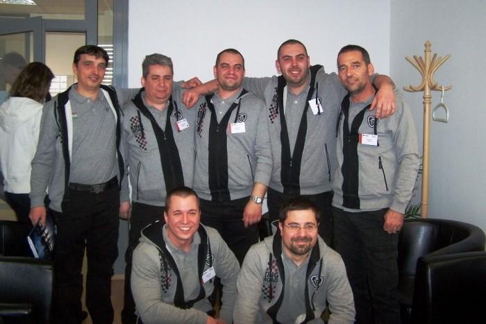 """A magyarországi szervizek közül a biatorbágyi """"Tud Tam Team"""" nevű csapata képviselhette hazánkat a szlovákiai elődöntőn"""