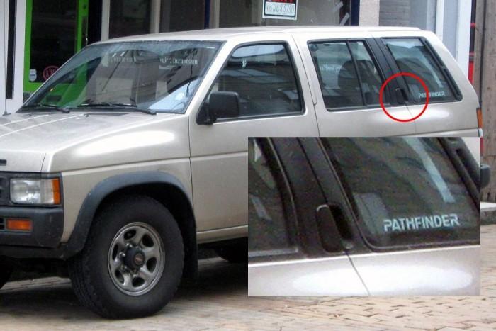 A 80-as években már a Nissan is zavarba tudta hozni hátsó ajtajával a rutintalan utast. A kilincs nem a megszokott helyen, hanem kicsit feljebb található