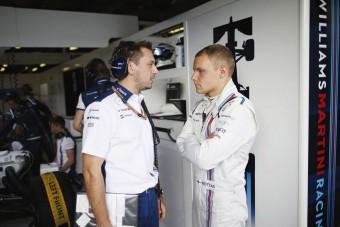 F1: Bottas napról napra jobban lesz