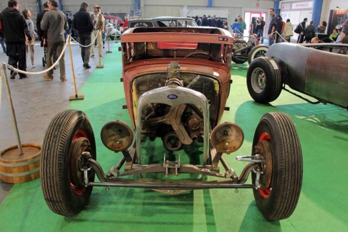 1931-es Ford Model A kupé, még építés alatt, de ígéretes darab.