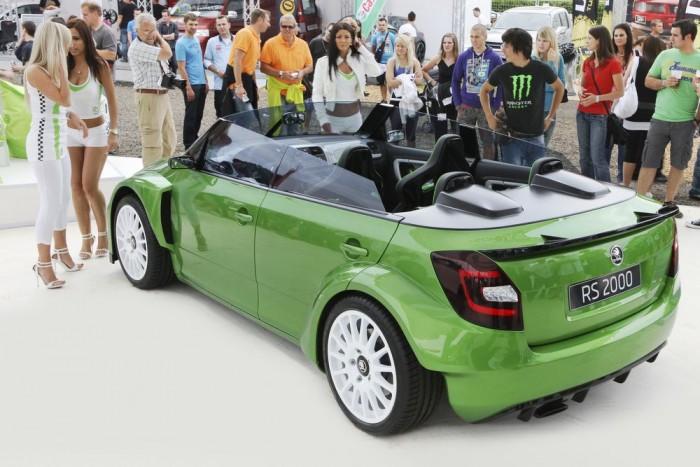 Skoda Fabia RS 2000 Roadster Concept