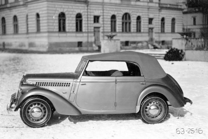 Škoda Rapid OHV roadster