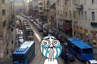 Újabb fejlövés a budapesti közlekedésnek