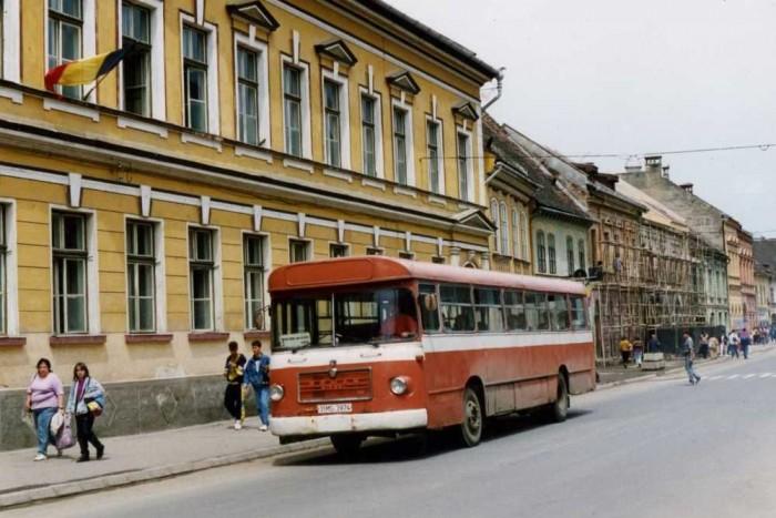 A Roman gyártmányú, MAN-licenc buszok sokáig a román utcakép részét képezték