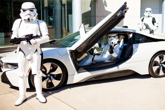 A BMW megcsinálta a tökéletes Star Wars-autót
