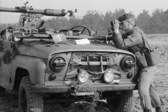 A tankokra vadászó UAZ megvan?