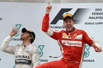 F1: Megvan Vettel első ferraris győzelme
