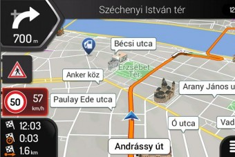 Ingyen adják a magyar autós navigációt