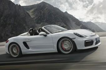 Visszatér a kigyúrt Porsche Boxster