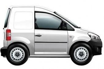 Ultrakompakt városi furgon a VW-tól